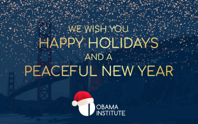 Season's Greetings from the Obama Institute