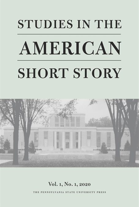 First volume of Studies in the American Short Story (SASS) 🗓